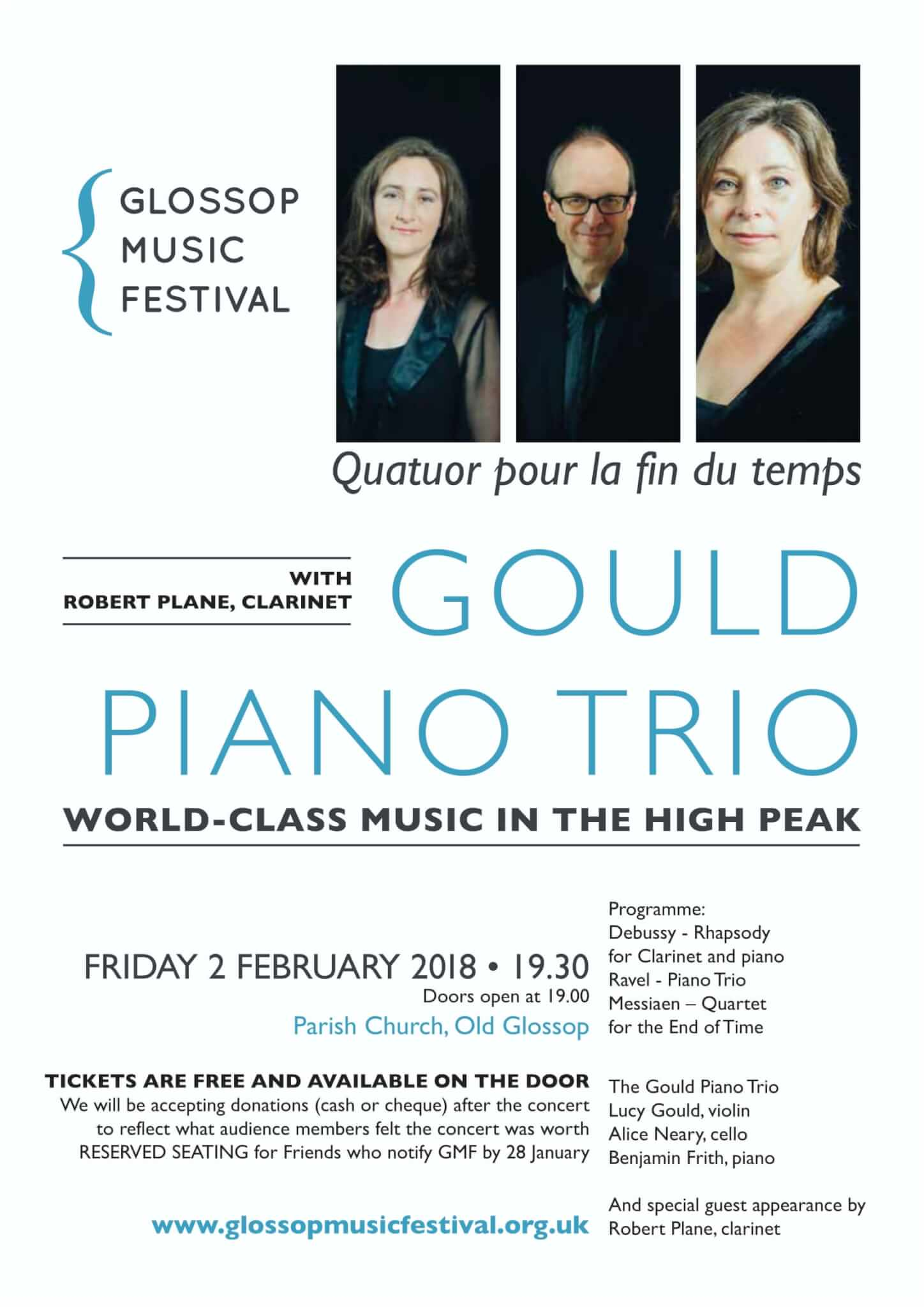 The Gould Piano Trio with Robert Plane