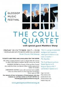 The Coull Quartet Glossop Music Festival